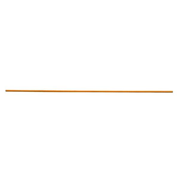 Orange Barricade Pole