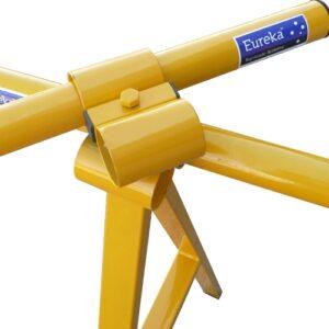 Yellow 4-way Swivel Barricading Leg