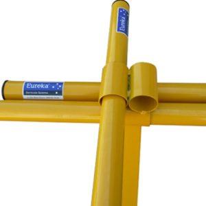 4 Way Fixed Barricade Legs